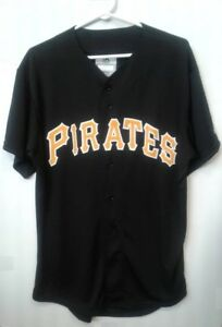 x5 NEW Majestic PIRATES Baseball Jersey-Mens