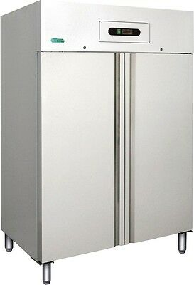 ARMADIO FRIGORIFERO 2 ante GN 2/1 +2/+8 C bianco frigoriferi professionali 1104
