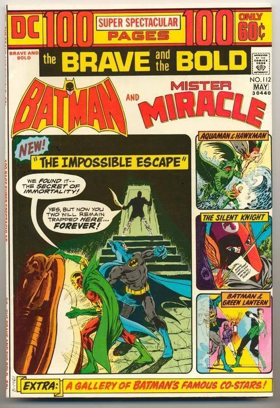 Brave & the Bold #112 ~ Batman Very Fine Plus VF+ (8.5) DC Comics 1974