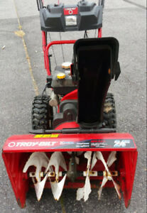 Used Troy-Bilt 24 in 208cc 2-Stage Snowblower - VG to Excellent