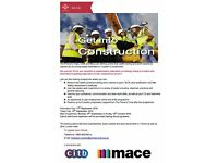 Free Construction Programme (Aged 16-25) in London - Gain your CSCS card