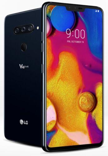 LG V40 ThinQ LMV405UA GSM Factory Unlocked 64GB Black Smartphone - Image Burn