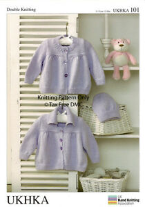 Details about VAT Free Hand Knitting Pattern DK Baby Toddler Jackets