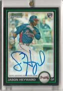 2010 Bowman Chrome Jason Heyward Auto