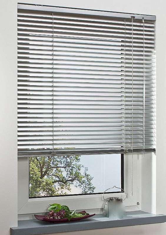 Aluminium Lamellen Jalousie/Rollo 100 cm breit 130 cm lang Sonnenschutz Rolladen