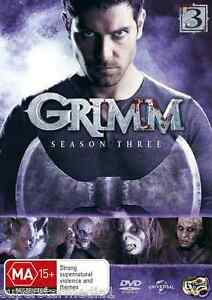 Grimm COMPLETE Season 3 : NEW DVD