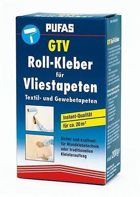 Tapetenkleister GTV Rollkleister 200g - Kleister für Vliestapeten