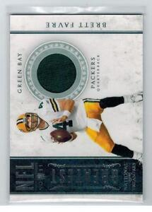 2011-NATIONAL-TREASURES-BRETT-FAVRE-GU-JERSEY-CARD-GREEN-BAY-PACKERS-29-99-X441