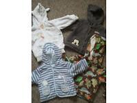 Baby boy bundle 3 to 6m.( 67 item)