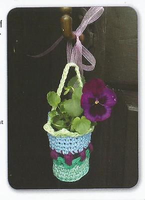 Crochet Pattern ~ May Day Basket ~ Instructions