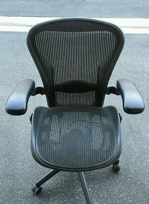 Herman Miller Aeron Size B Desk Chair Excellent Condition
