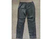 New Genuine Real Leather Ladies Women Skinny Pants Leggings