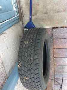 A SET OF 4 WINTER TIRES! Edmonton Edmonton Area image 2