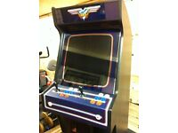 WANTED. OLD JAMMA 2 PLAYER, 6 BUTTON ARCADE MACHINE. DOESN'T NEED TO HAVE WORKING GAME.