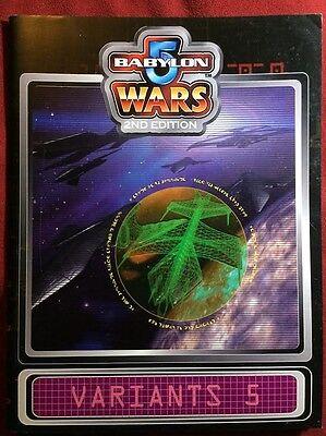 Babylon 5 Wars: Variants 5 - Agents of Gaming - BW-161 - NEW