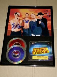 RED HOT CHILI PEPPERS Stadium Arcadium Hand signed Fully CD Frame