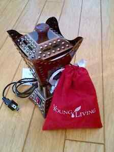 Brand New Young Living Resin Burner and Frankincense