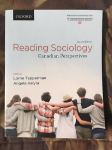 Reading Sociology: Canadian Perspectives. 2nd edtion