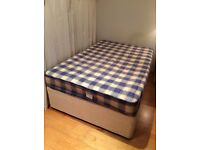 4ft Double Divan and Mattress For Sale!