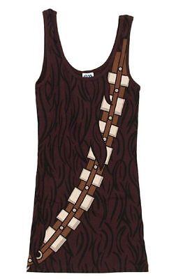Chewbacca Tank Top (Star Wars - Chewbacca Costume Tank-Top Shirt - Juniors Size - Cla)