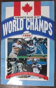 Blue jays 1992 World Champions Yearbook