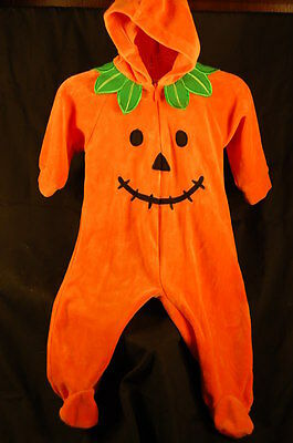 Infant Costume Mini Wear  Pumpkin Jack O Lantern 6-9 Month Halloween  - Infant 6-9 Month Halloween Costumes
