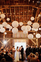 Barn rental for Wedding/Reception