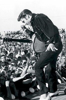 ELVIS PRESLEY ~ LIVE IN TUPELO 24x36 MUSIC POSTER The King Guitar NEW/ROLLED!
