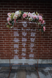 Wedding Calligraphy - Seating Charts, Welcome Signages
