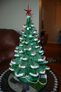 22 Inch Ceramic Christmas Tree