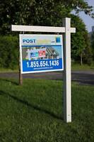 PART-TIME SALES/INSTALLATIONS REAL ESTATE SIGNS