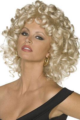e NEU - Karneval Fasching Perücke Haare (Greaser Perücken)