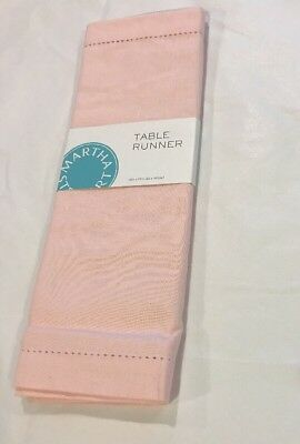 Close out Martha Stewart Table Runner Easter Pink, 14