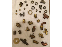 Various Copper Pipe Connectors