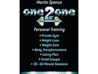 Martin Spence Fitness & Body Transformatons Studio