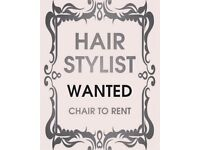 Hair Chairs and Nail Stations to rent
