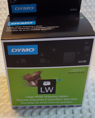 """Dymo Shipping Labels - 2 5/16"""" x 4 """" 1 Roll 300 Labels White (30256), used for sale  Shipping to India"""