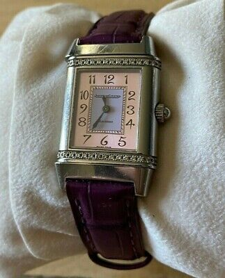 Jaeger LeCoultre Reverso Lady's Watch Model 265.842.08