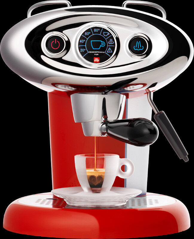 Francis Francis For Illy X7 1 Espresso Coffee Maker In Red