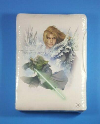 Soul Calibur IV Yoda Star Wars Video Game Movie T-Shirt 2008 White XL NEW Sealed