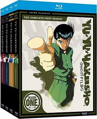 Yu Yu Hakusho Season One Two Three Four 1 2 3 4 Complete Series FAST SHIPPING!!!