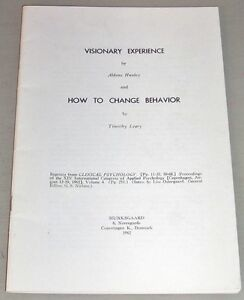 1963-TIMOTHY-LEARY-ALDOUS-HUXLEY-PSYCHEDELIC-LSD-VISIONARY-EXPERIENCE-Denmark