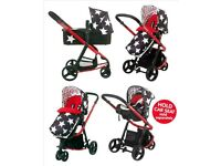 Cosatto Giggle2 all star travel system / pram