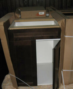 Kitchen Cabinetry - Solid wood doors - 9 Pieces various sizes