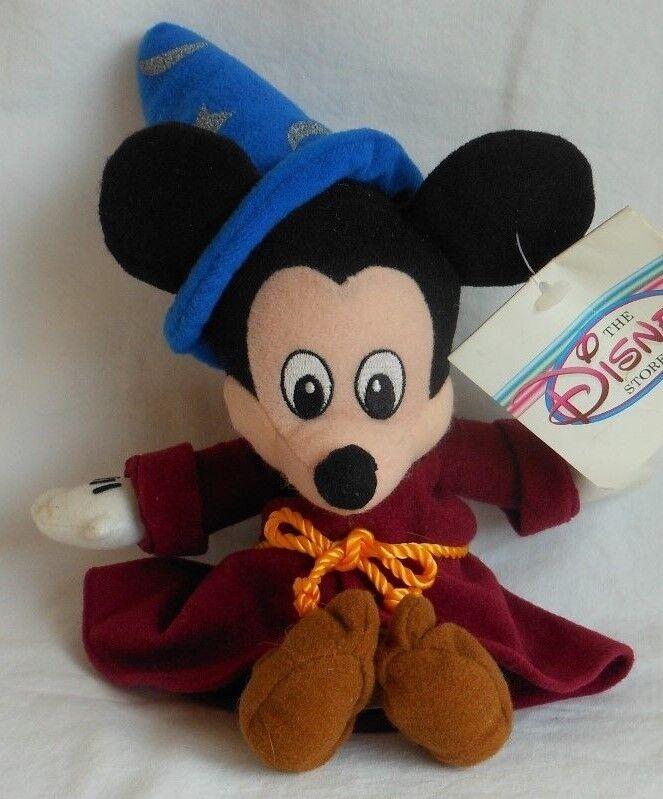 e931793b806 DISNEY STORE FANTASIA HIPPO Bean Bag SORCERER MICKEY MOUSE BEAN BAG PLUSH  Toy ...
