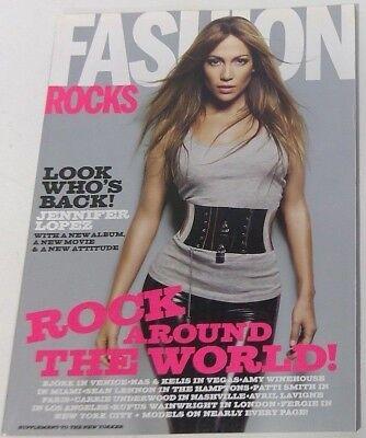 Fashion Rocks 2007 The New Yorker supplement J Lo Jennifer Lopez Amy Winehouse