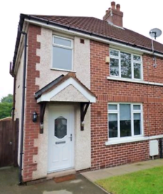 Two bed semi detached house to let