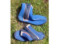 Blue Sealsuit wetsuit boots size 42
