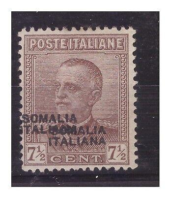 SOMALIA 1928 - CENTESIMI 7 1/2  -  DOPPIA  SOPRASTAMPA  -   NUOVO **