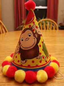 Curious George Birthday Party Hats & Centerpiece London Ontario image 3